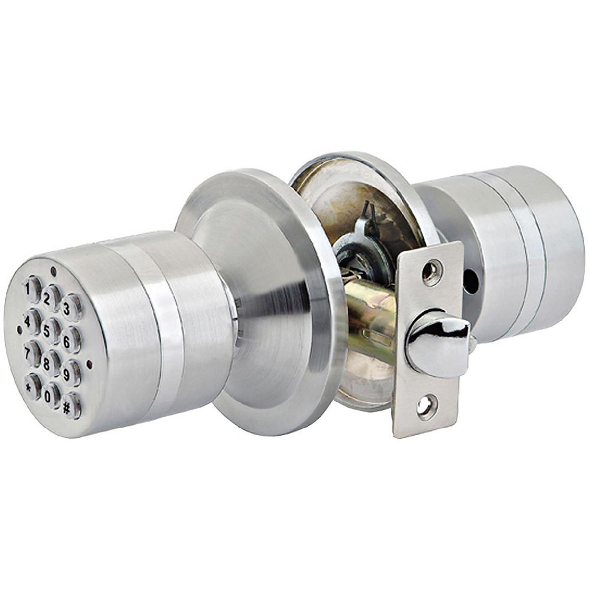 combination lock door knob photo - 20