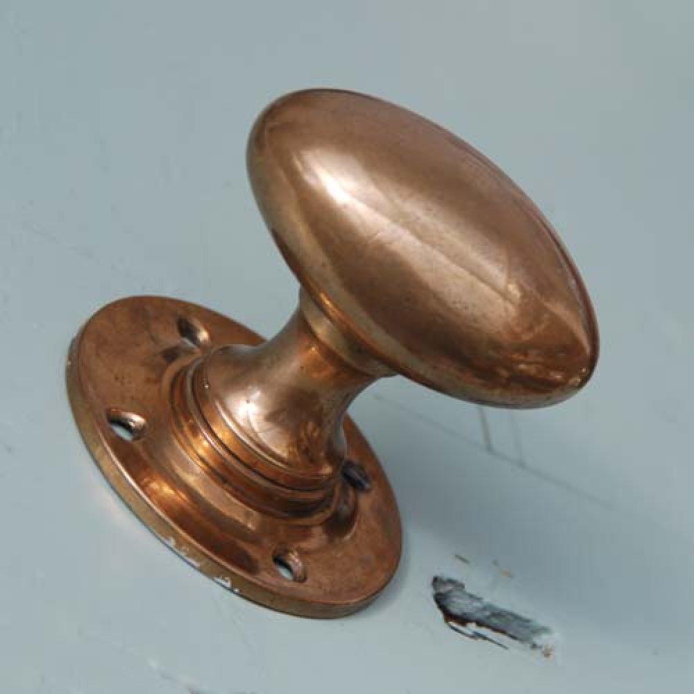 copper door knob photo - 3
