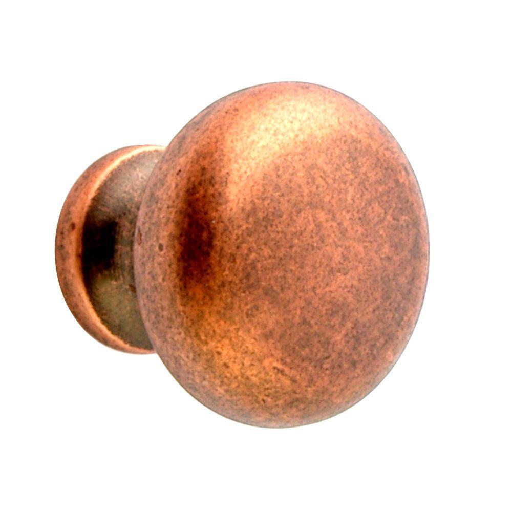 copper door knob photo - 4