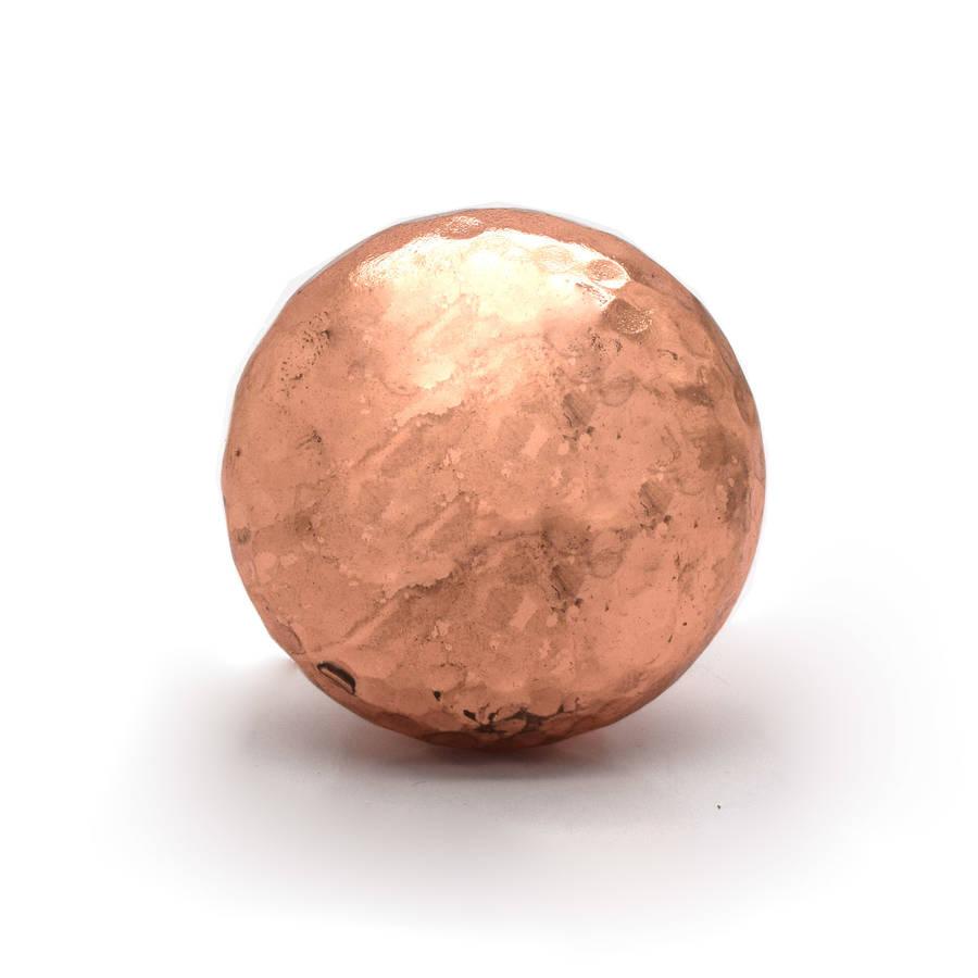 copper door knob photo - 5