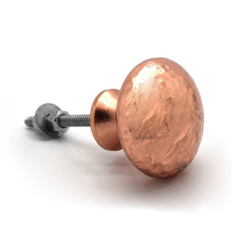 copper door knobs photo - 1