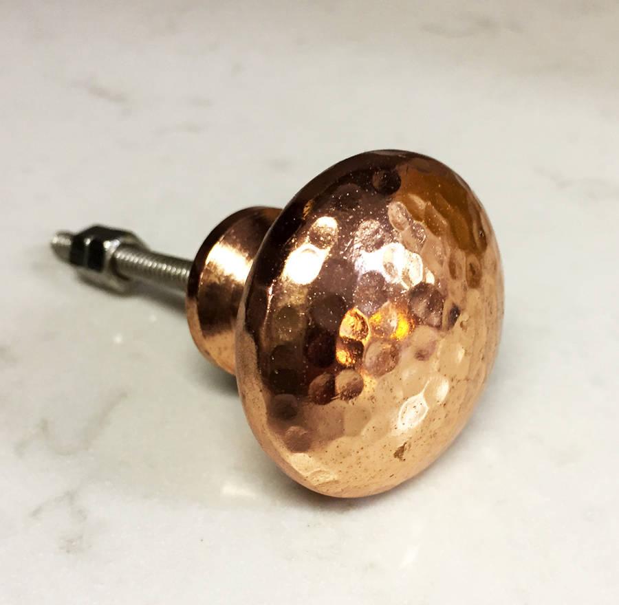 copper door knobs photo - 9