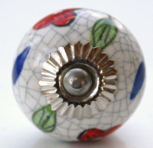 crackle glaze door knobs photo - 15