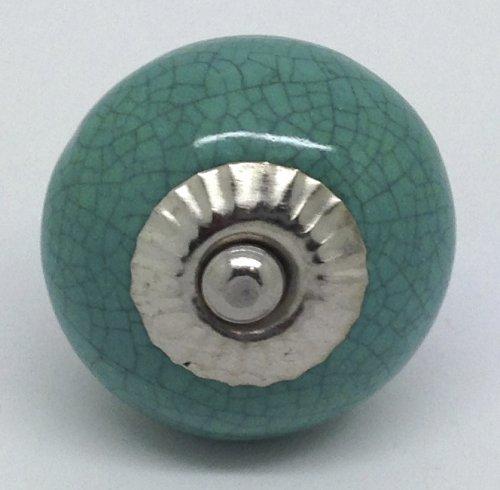 crackle glaze door knobs photo - 8