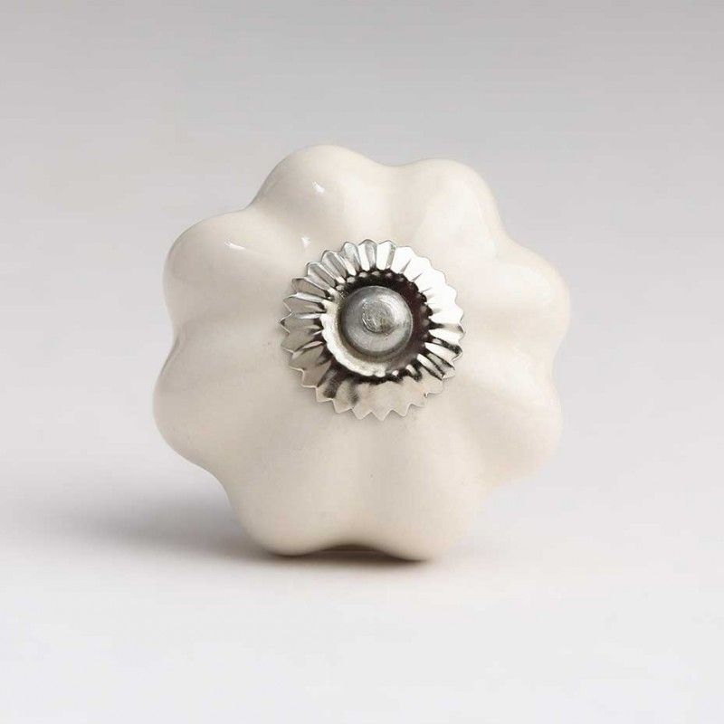 cream ceramic door knobs photo - 16