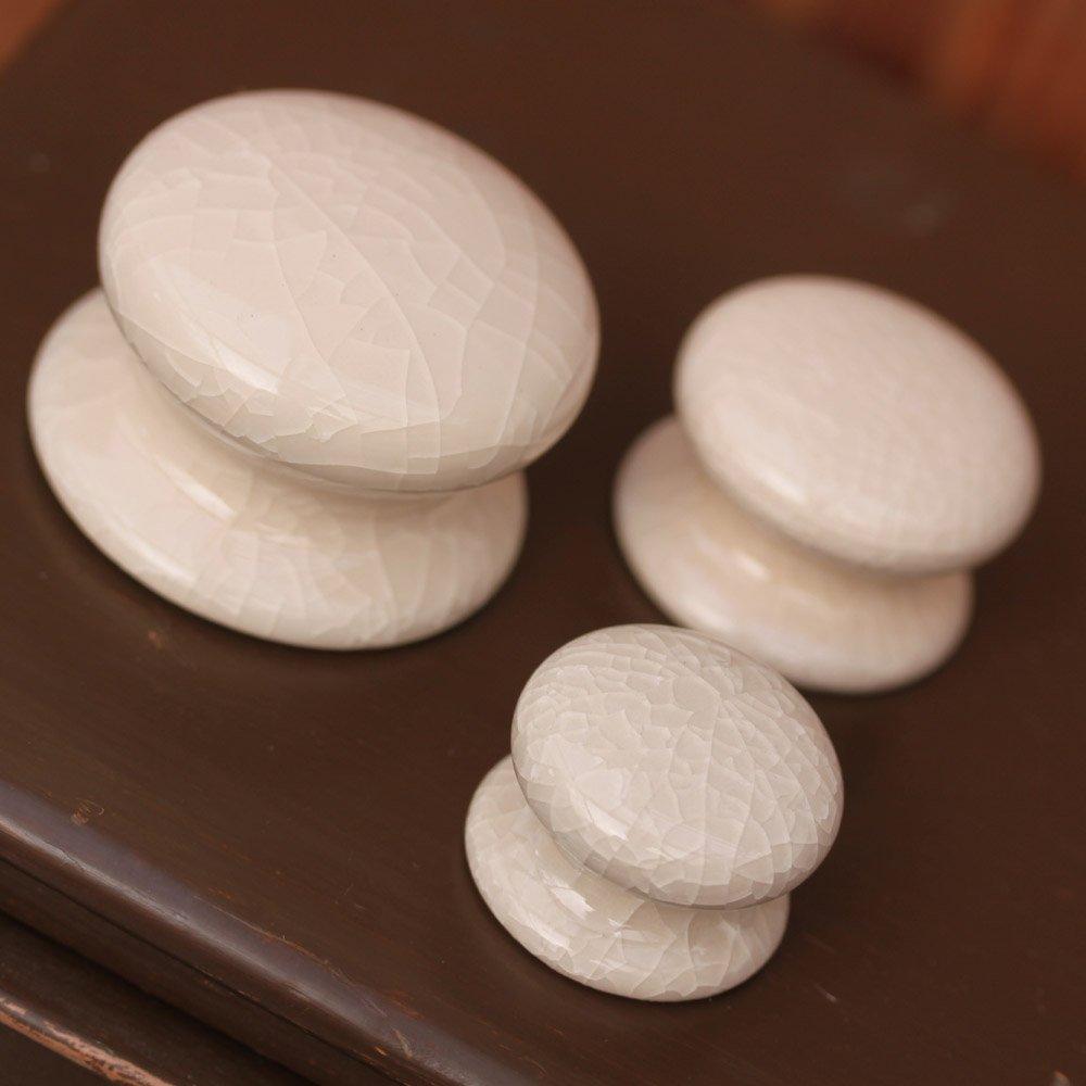 cream ceramic door knobs photo - 3
