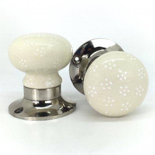 cream door knobs photo - 14