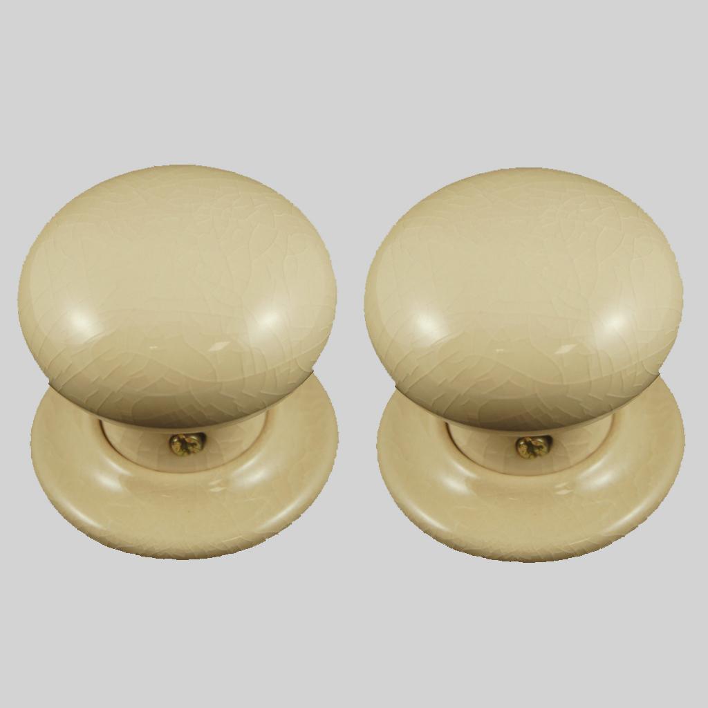 cream door knobs photo - 5