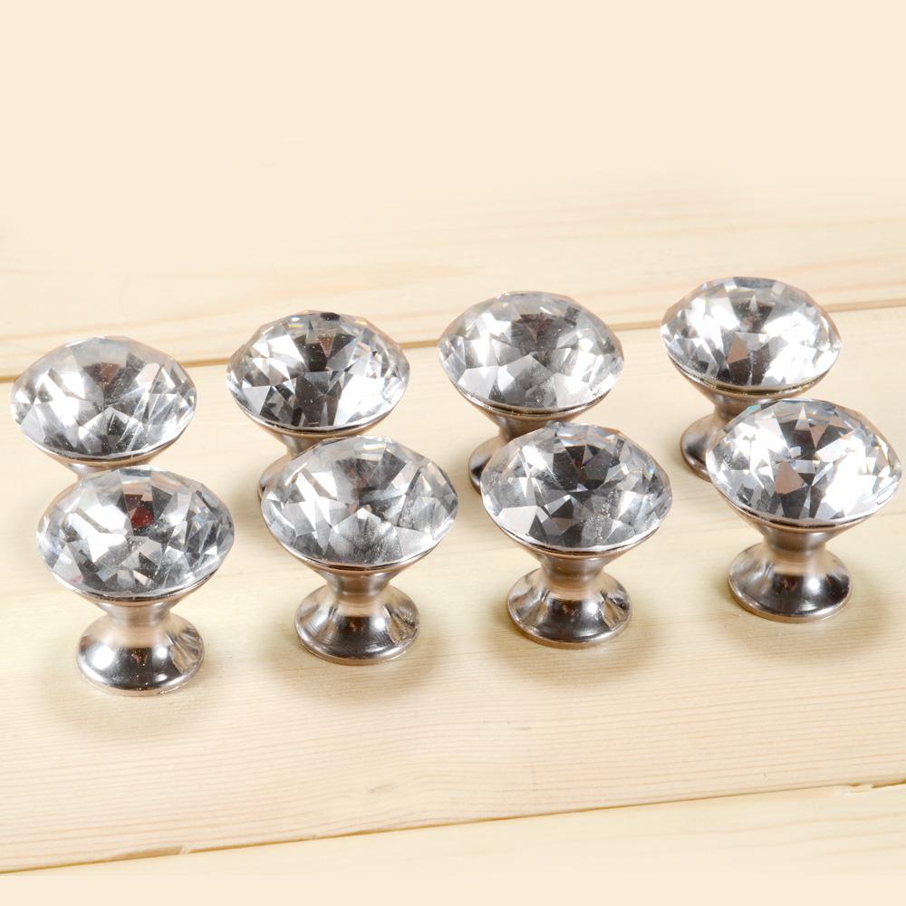 crystal cabinet door knobs photo - 17
