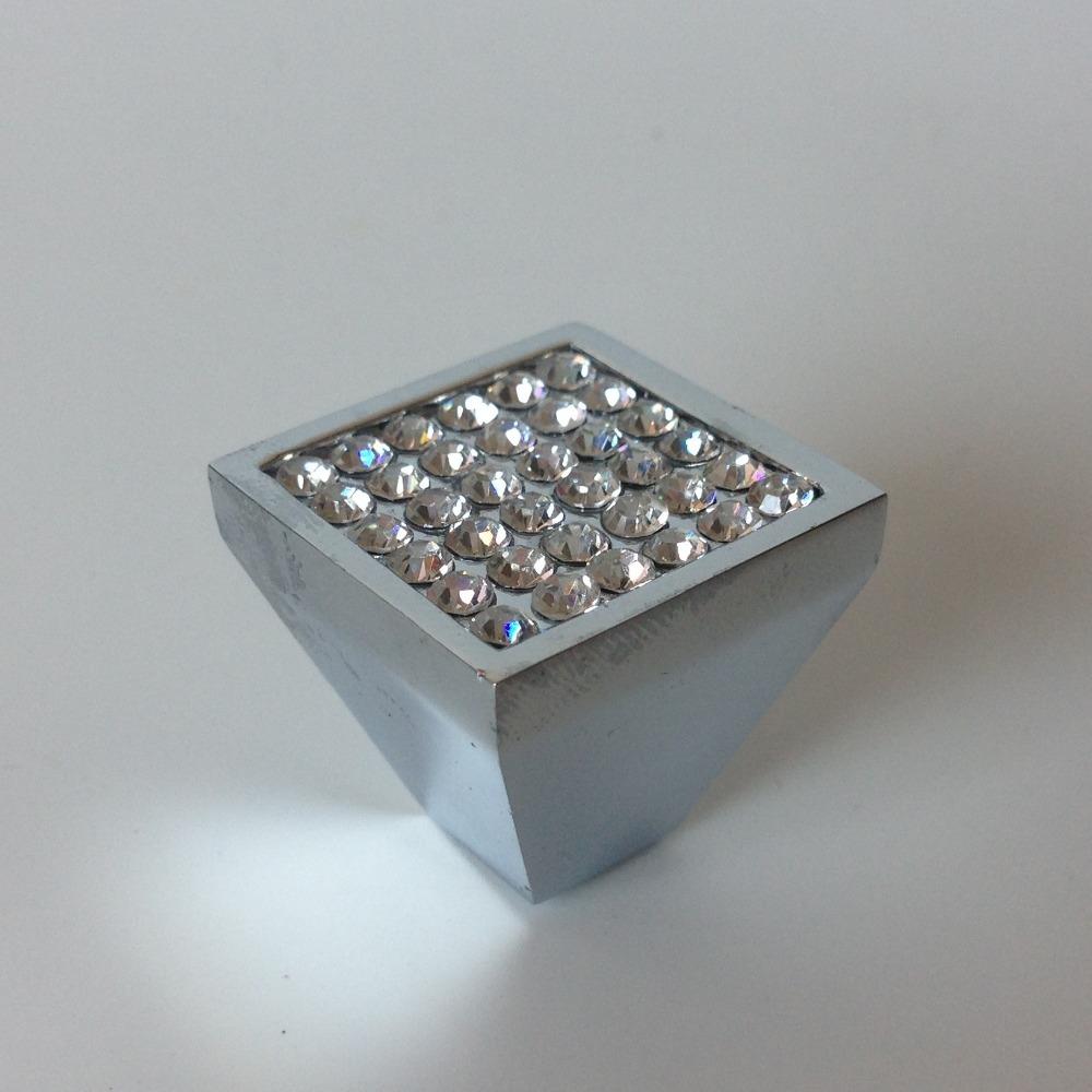 crystal cabinet door knobs photo - 4
