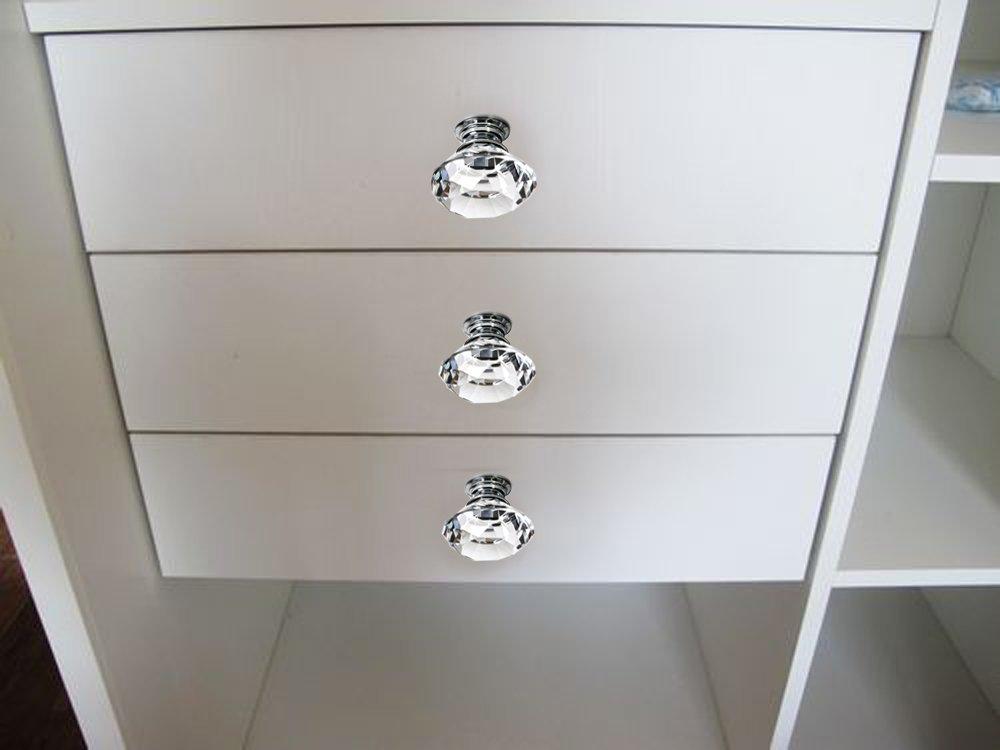 crystal closet door knobs photo - 13