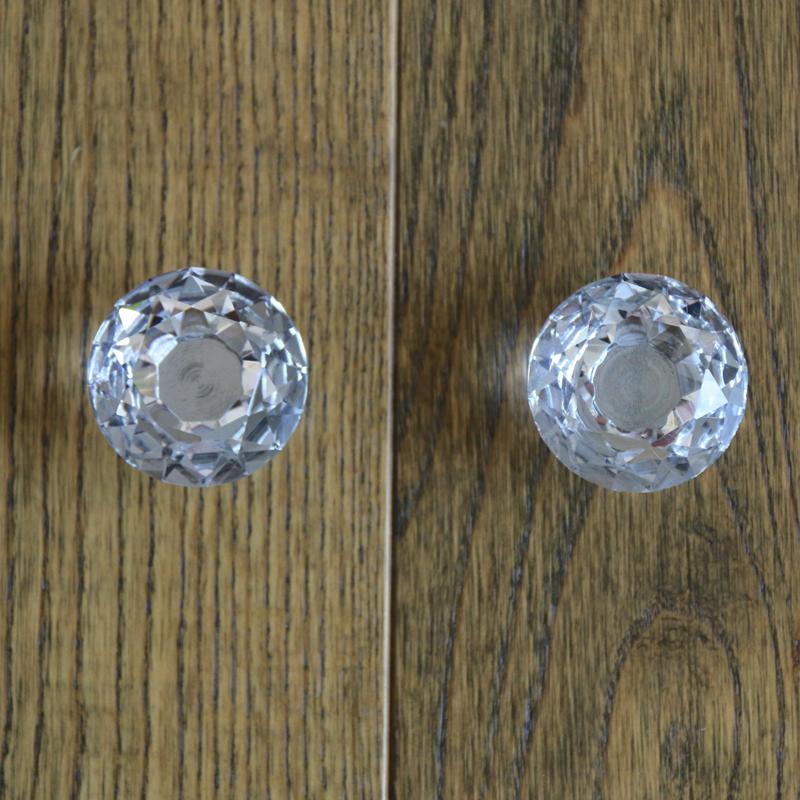crystal cupboard door knobs photo - 10