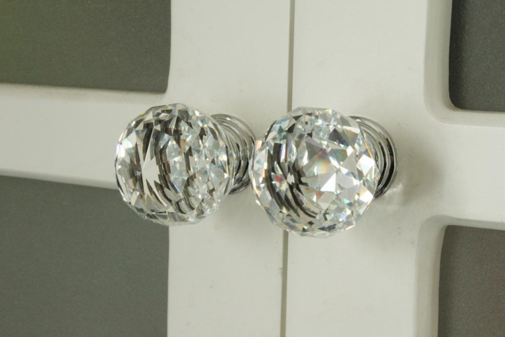 crystal cupboard door knobs photo - 5