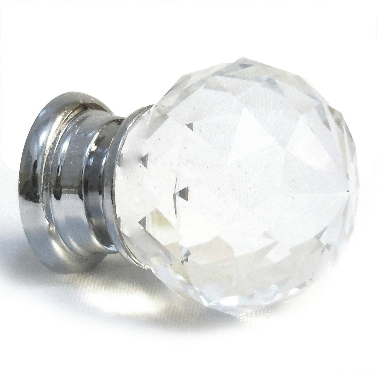 crystal cupboard door knobs photo - 7