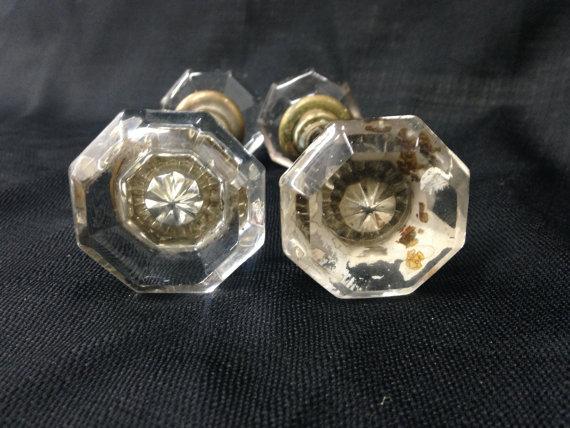 crystal door knob set photo - 11