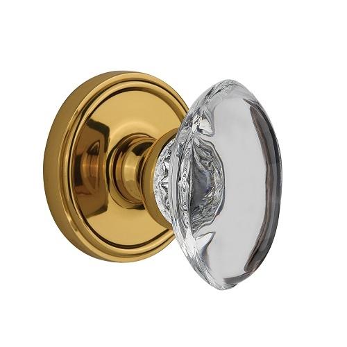 crystal door knob set photo - 3