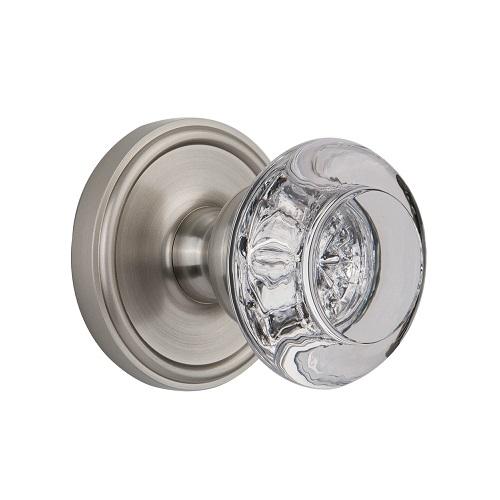 crystal door knob set photo - 7