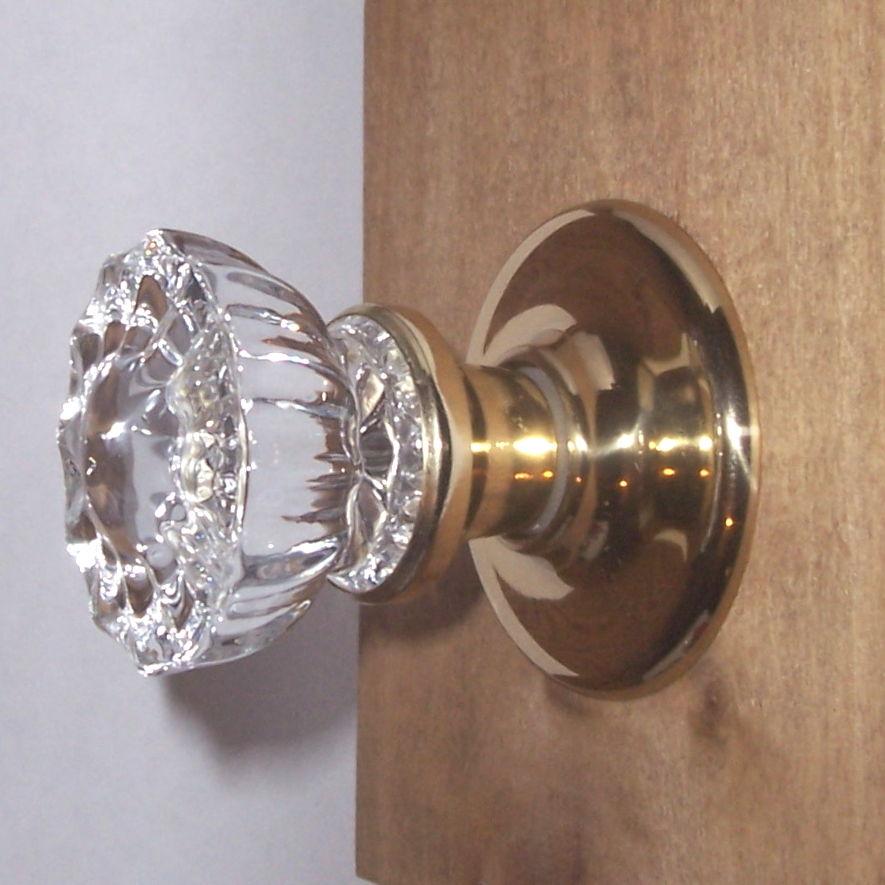 crystal door knob set photo - 8