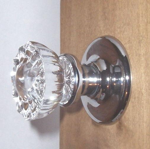 crystal door knob set photo - 9