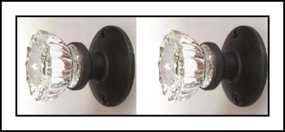 crystal door knob sets photo - 10