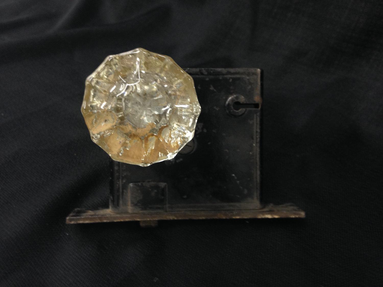 crystal door knob sets photo - 8