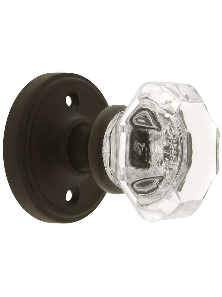 crystal door knob sets photo - 9