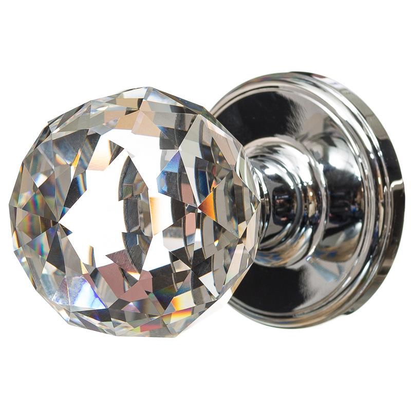 crystal door knobs photo - 2