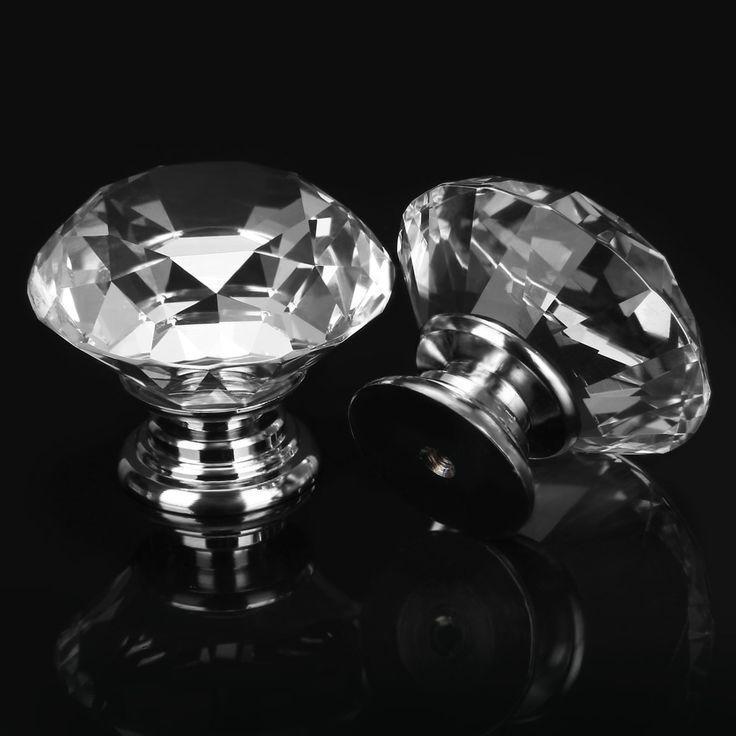 crystal door knobs ebay photo - 3