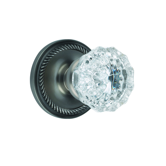 crystal door knobs with lock photo - 6