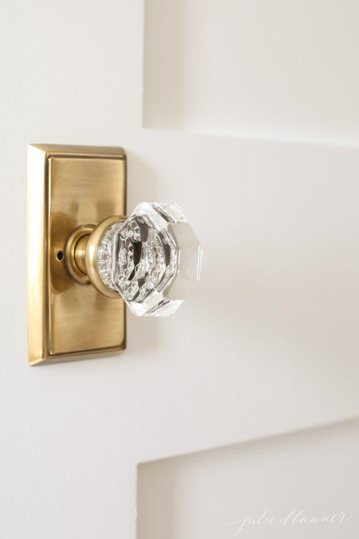 crystal door knobs with lock photo - 9