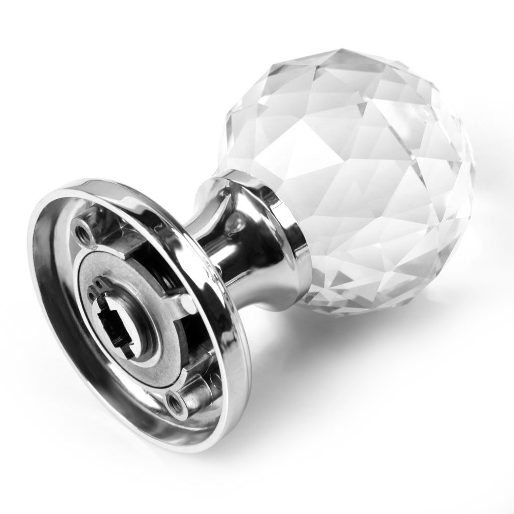 crystal glass door knobs photo - 11