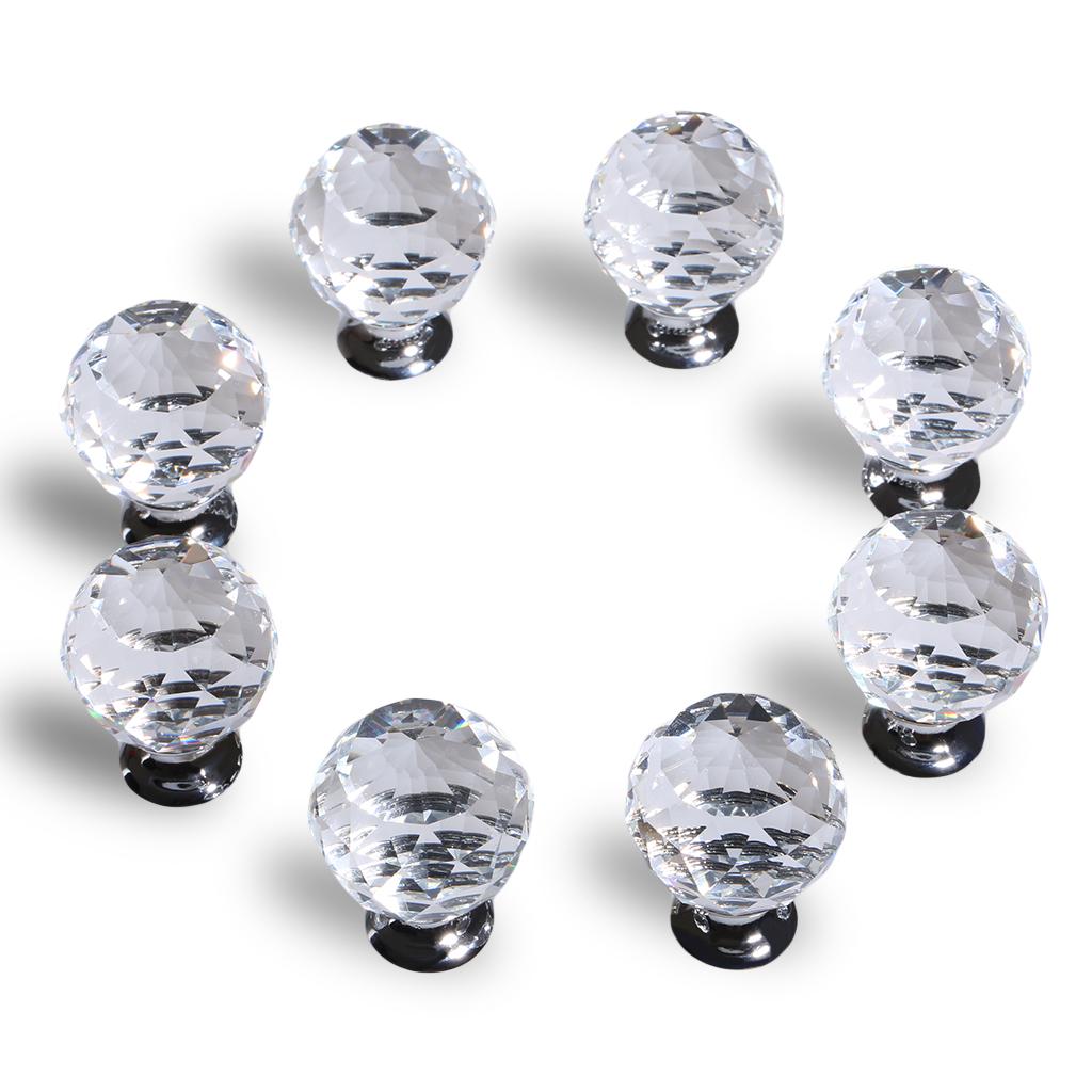 crystal glass door knobs photo - 15