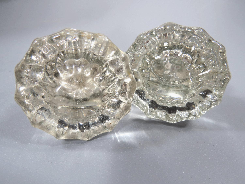 crystal glass door knobs photo - 17