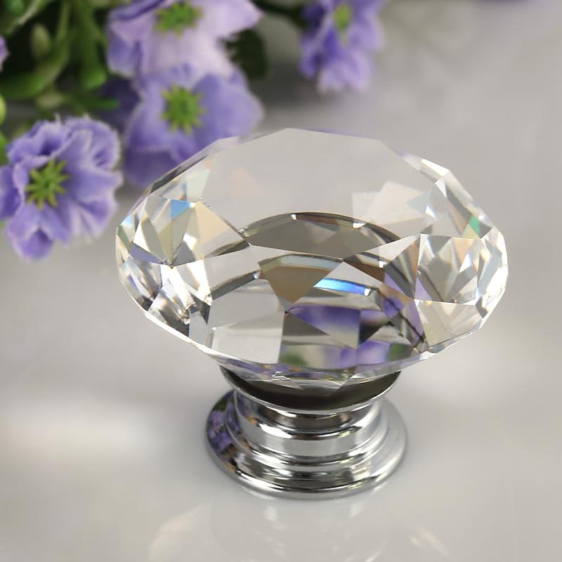 crystal glass door knobs photo - 5