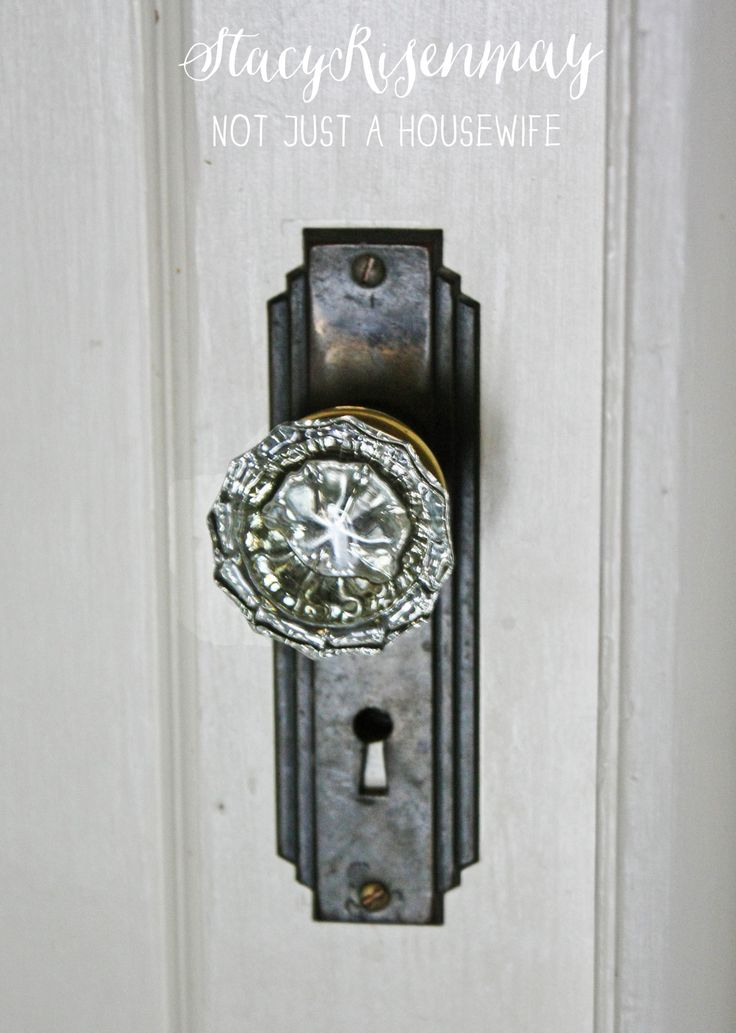 crystal interior door knobs photo - 16
