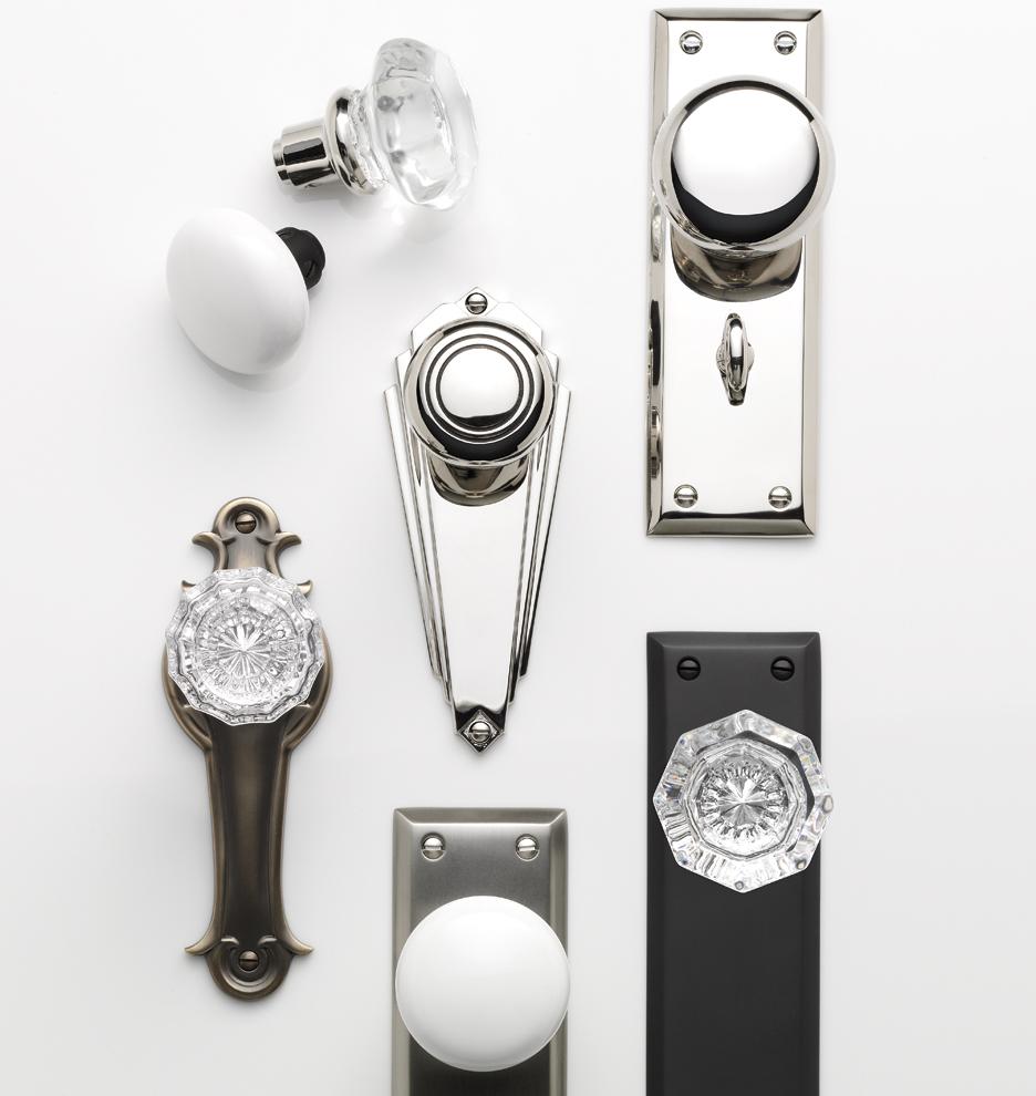 crystal interior door knobs photo - 18