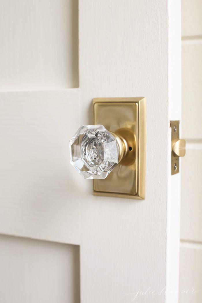 crystal interior door knobs photo - 8