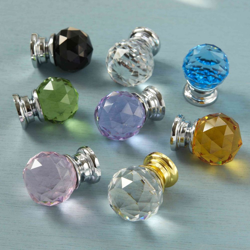 crystal knobs for doors photo - 14