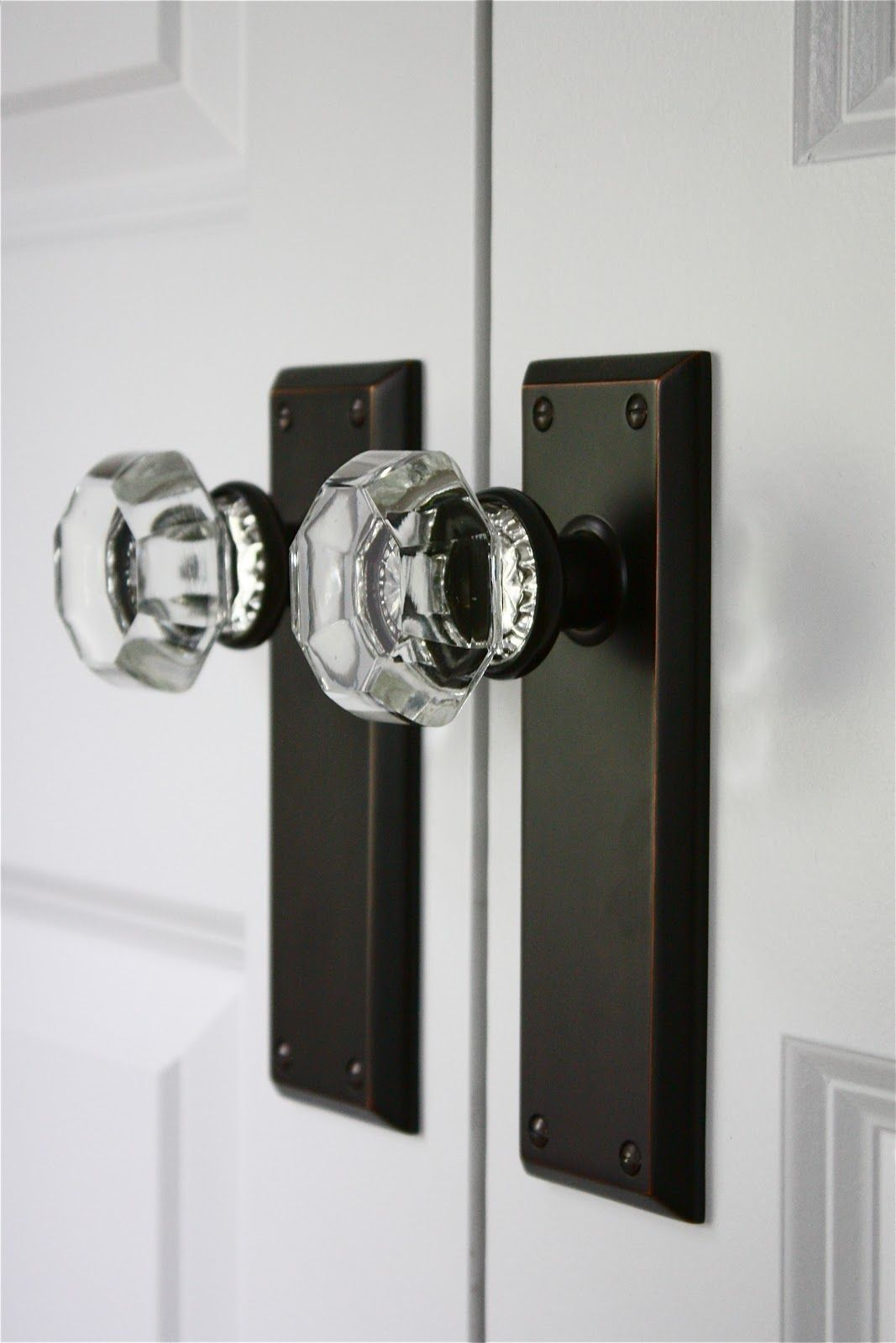 crystal knobs for doors photo - 6