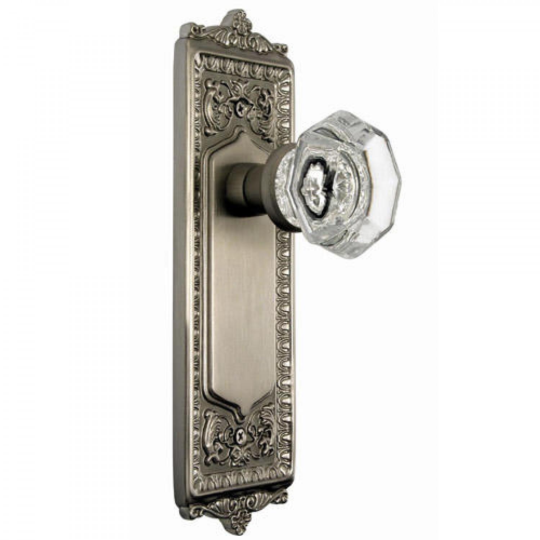 crystal privacy door knob sets photo - 9