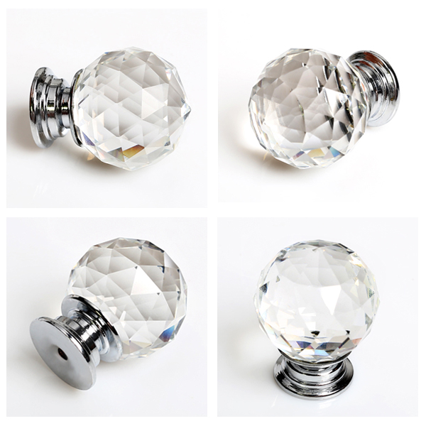 crystal wardrobe door knobs photo - 1