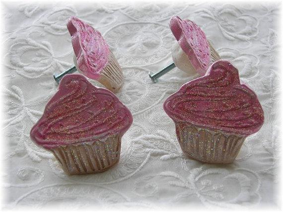 cupcake door knobs photo - 13
