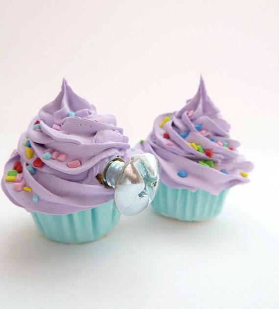 cupcake door knobs photo - 2