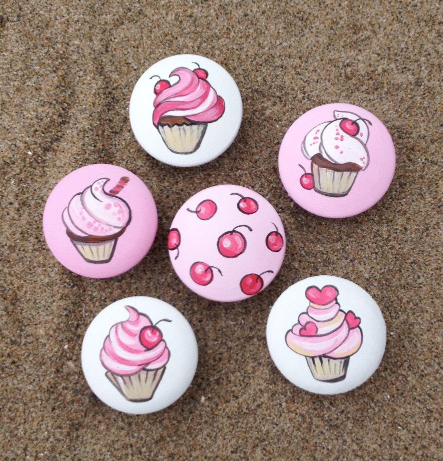 cupcake door knobs photo - 8