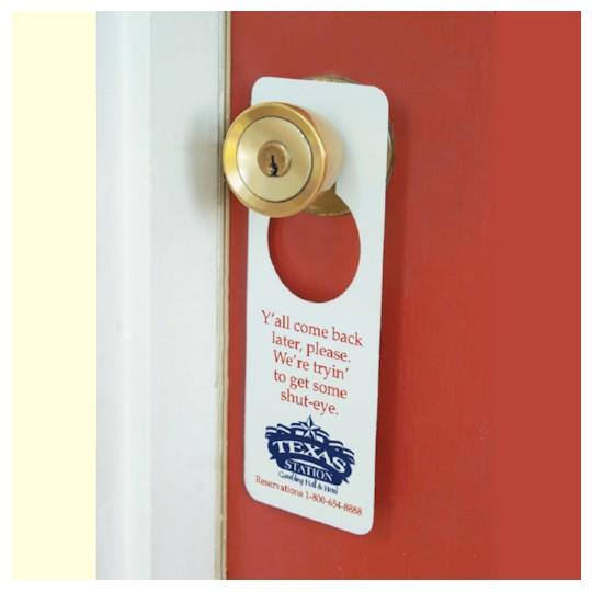 custom door knob hangers photo - 4