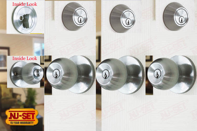 deadbolt and door knob sets photo - 13