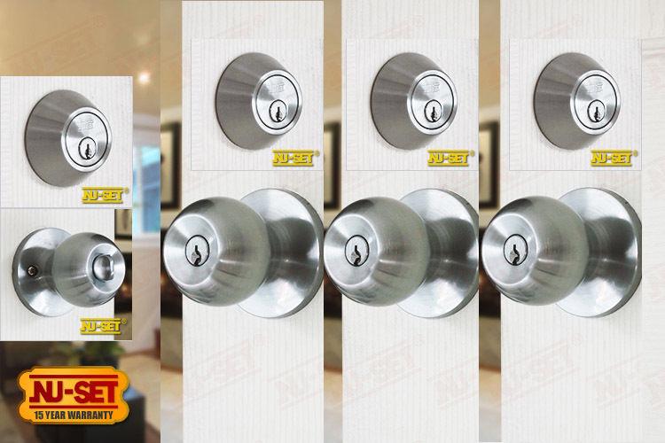 deadbolt and door knob sets photo - 14