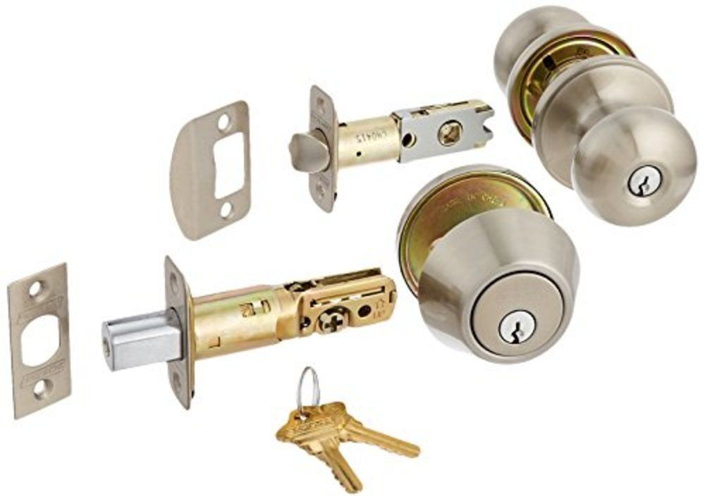 deadbolt and door knob sets photo - 5