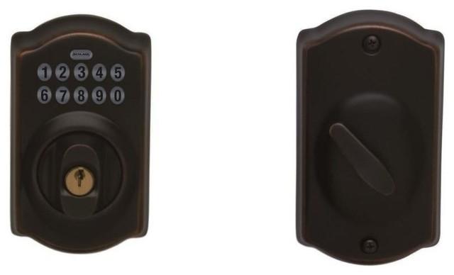deadbolt door knob all in one photo - 17