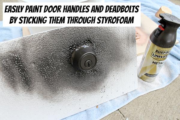 deadbolt door knob all in one photo - 3